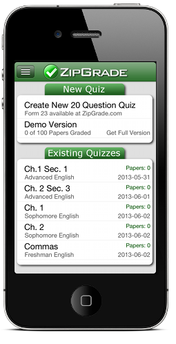 ZipGrade Cloud: iOS and Android Grading App For Teachers